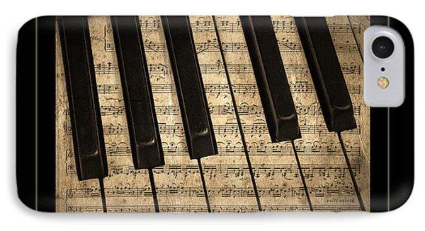 Golden Pianoforte Classic IPhone Case