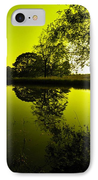 Golden Pond IPhone Case by Nick Kirby