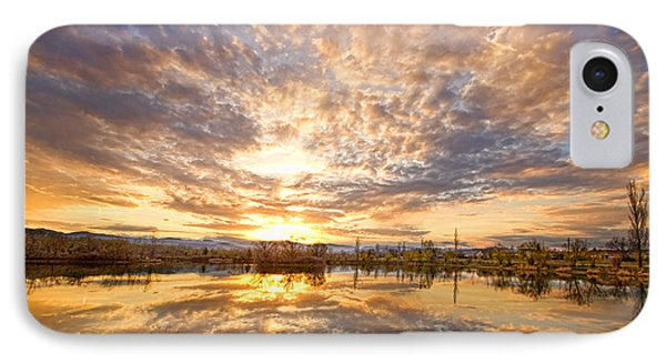 Golden Ponds Scenic Sunset Reflections 2 IPhone Case by James BO  Insogna