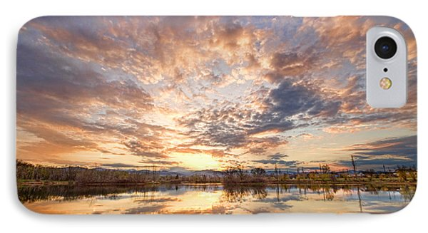 Golden Ponds Scenic Sunset Reflections 3 Phone Case by James BO  Insogna