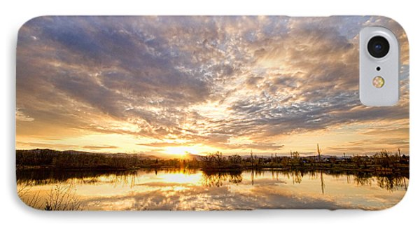 Golden Ponds Scenic Sunset Reflections Phone Case by James BO  Insogna