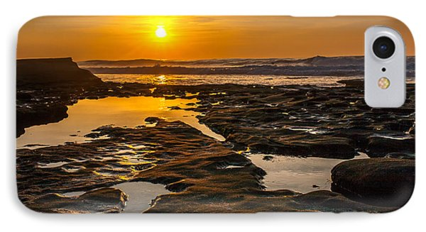 Golden Pools Phone Case by Peter Tellone