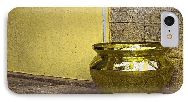 Golden Pot IPhone Case