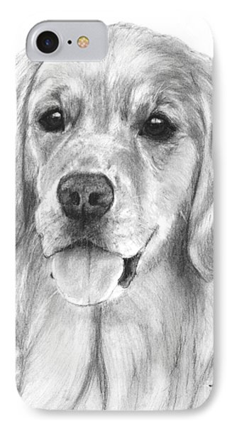 Golden Retriever Jessie Adult IPhone Case
