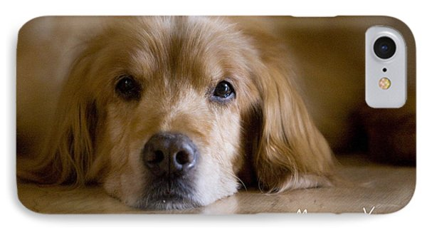 Golden Retriever Missing You Phone Case by James BO  Insogna