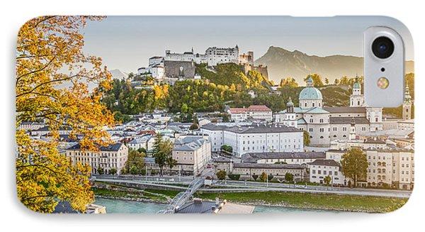 Golden Salzburg IPhone Case by JR Photography