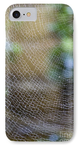 Far North Queensland iPhone 7 Case - Golden Silk Orb Weaver's Web Design by Kerryn Madsen-Pietsch