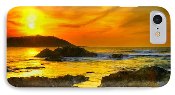 Golden Sky IPhone Case by Bruce Nutting