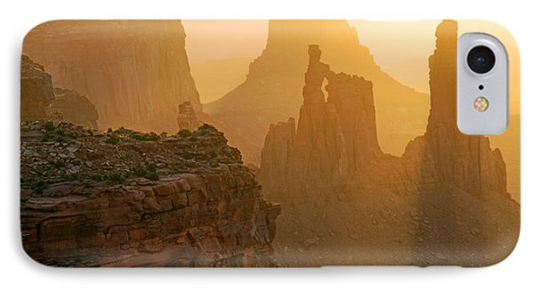 Golden Spires IPhone Case