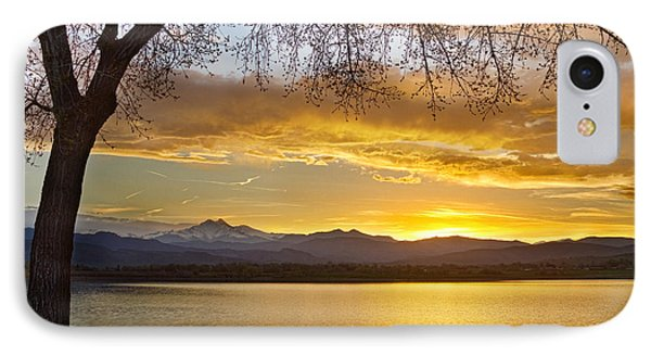 Golden Spring Time Twin Peaks Sunset View Phone Case by James BO  Insogna