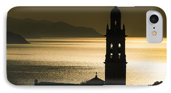 Golden Sunlight Reflected On Water IPhone Case