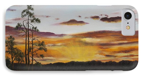 Golden Sunrise IPhone Case by Alan Mager