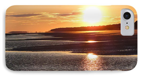 Golden Sunset IPhone Case by Cindy Croal
