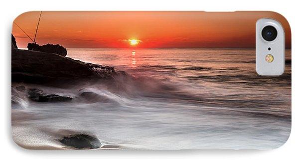 Golden Sunset IPhone Case by Edgar Laureano