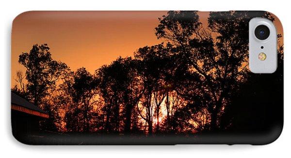 Golden Sunset IPhone Case by Rebecca Davis