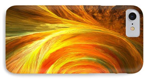 Golden Swirls IPhone Case