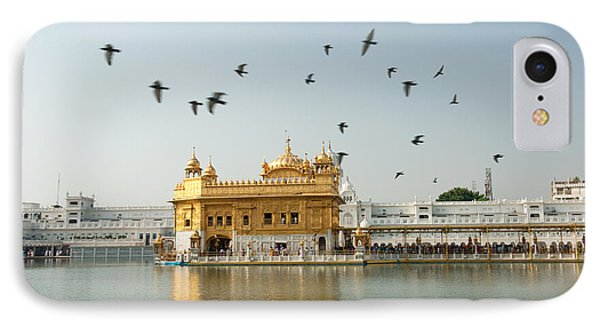 Golden Temple In Amritsar IPhone Case by Yew Kwang