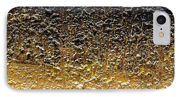 Golden Time - Abstract Phone Case by Ismeta Gruenwald