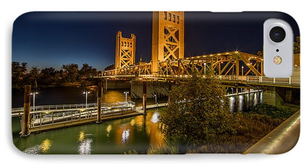 Golden Towers IPhone Case by Everet Regal
