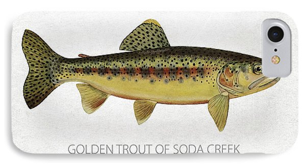 Golden Trout Of Soda Creek Phone Case by Aged Pixel