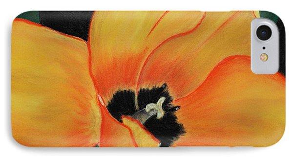 Golden Tulip IPhone Case