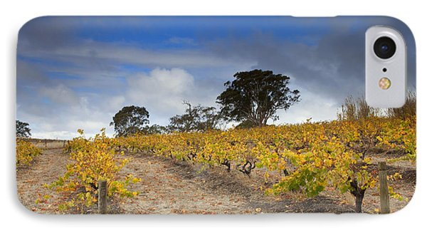Golden Vines Phone Case by Mike  Dawson