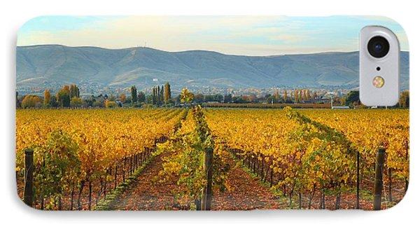 Golden Vineyards IPhone Case