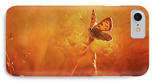 Golden Wings IPhone Case