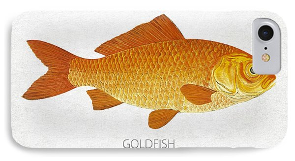 Goldfish IPhone Case by Aged Pixel