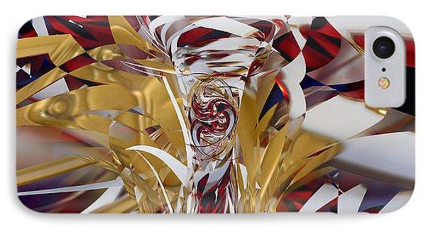 IPhone Case featuring the digital art Goldigger by rd Erickson