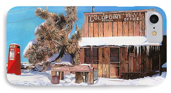 Goldpoint-nevada IPhone Case by Guido Borelli