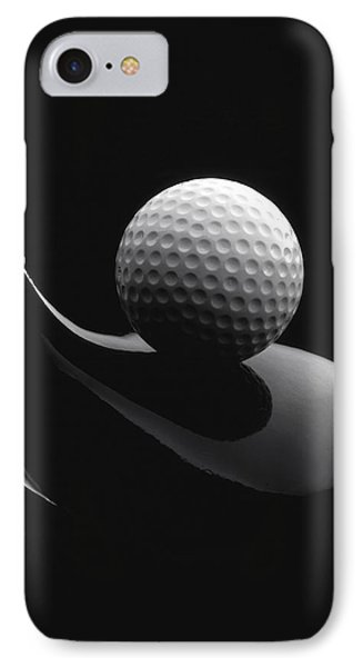 Golf Ball And Club IPhone Case
