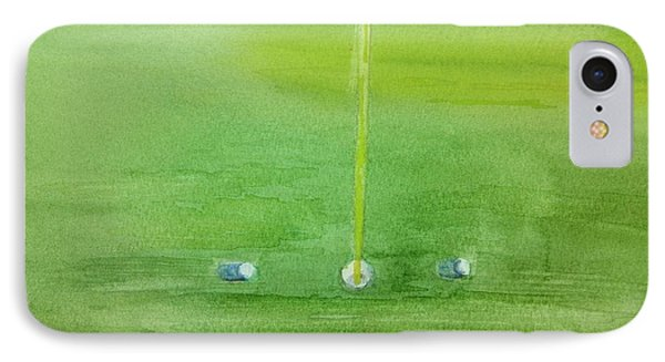 Golf Betting IPhone Case by Geeta Biswas
