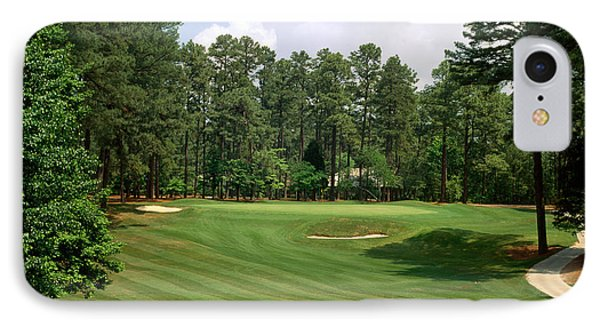 Golf Course At Pinehurst Resort IPhone Case by Panoramic Images