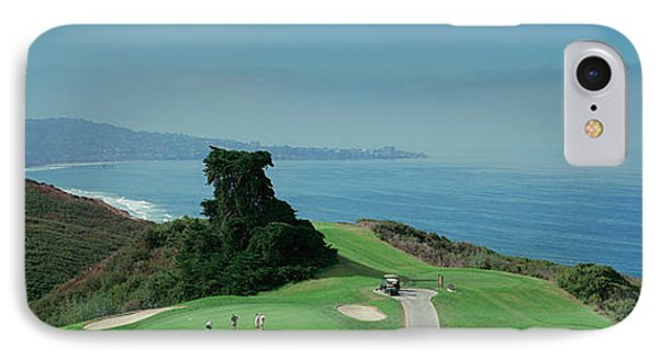 Golf Course At The Coast, Torrey Pines IPhone Case by Panoramic Images