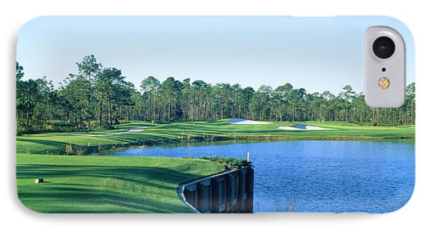 Golf Course At The Lakeside, Regatta IPhone Case