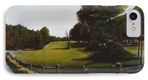 Golf Course In Duxbury Ma Phone Case by Diane Strain