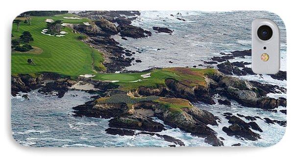 Golf Course On An Island, Pebble Beach IPhone Case