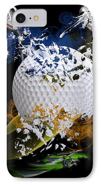 Golf Explosion IPhone Case