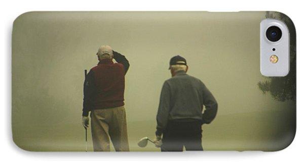 Golf In A Fog IPhone Case