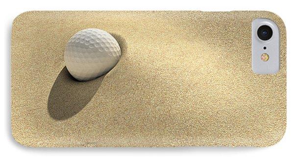 Golf Sand Trap Phone Case by Allan Swart