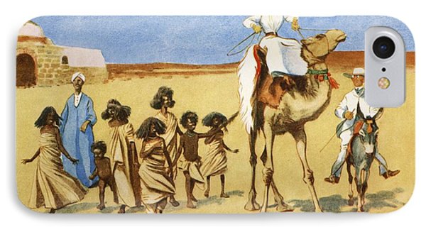 Gollywogs Of The Desert, From The Light IPhone Case by Lance Thackeray