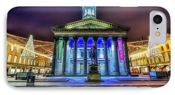 Goma Glasgow Lit Up Phone Case by John Farnan