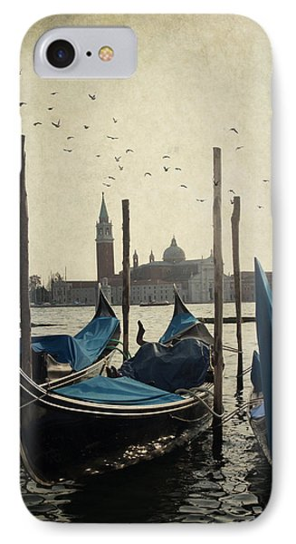 IPhone Case featuring the photograph Gondala In Venice by Ethiriel  Photography