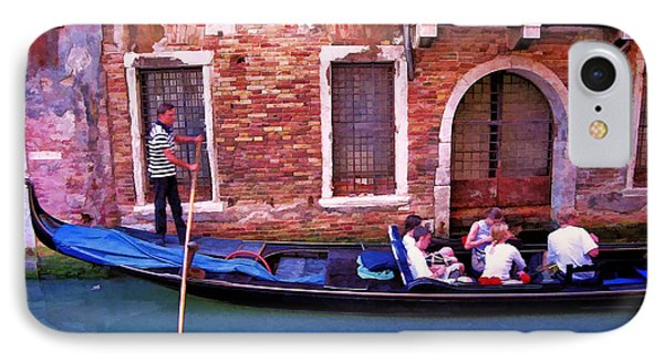 IPhone Case featuring the photograph Gondola 4 by Allen Beatty