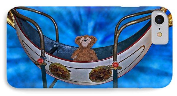Gondola Bear Phone Case by Thomas Woolworth