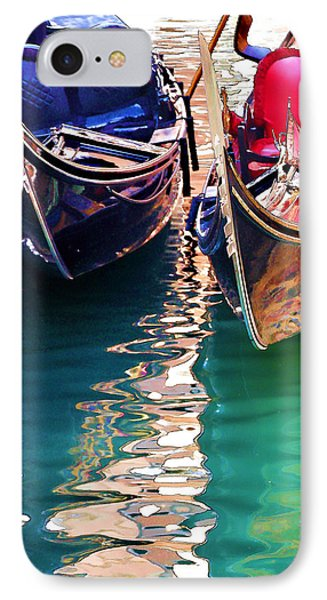 IPhone Case featuring the digital art Gondola Love by Brian Davis