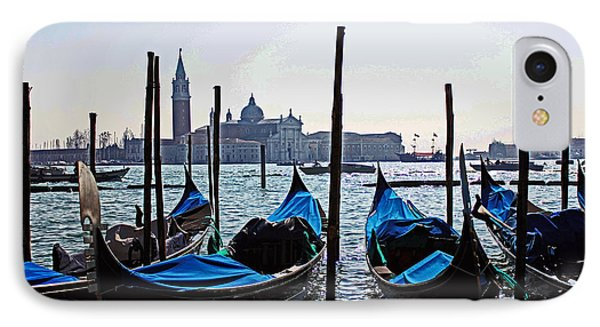 Gondolas Of Venice IPhone Case by Alison Tomich