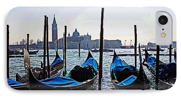 Gondolas Of Venice IPhone Case by Alison Tomich