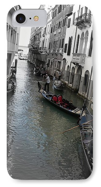 IPhone Case featuring the photograph Gondolier by Laurel Best